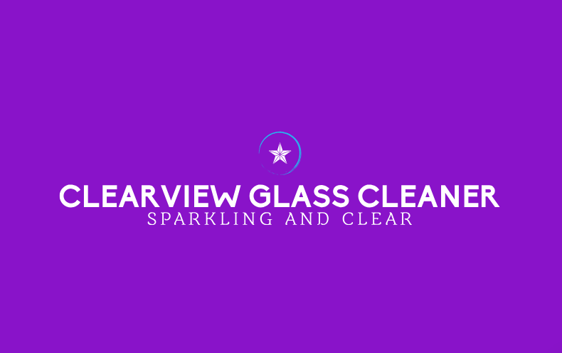 CLEARVIEW GLASS CLEANER