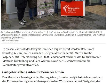"""""""Die Glocke"""" Vorbericht über Promenaden (er)Leben 2020"""