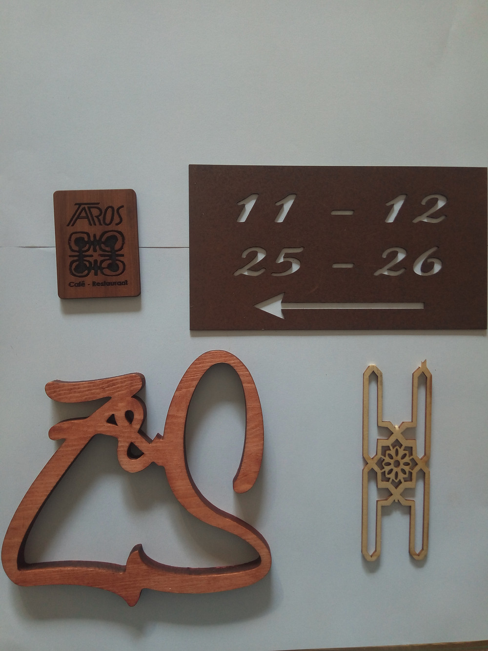 personnalisation d'objet laser et gravure sur bois et sur métal