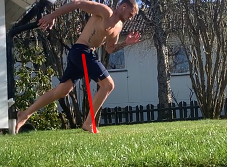 Linear Speed - Acceleration : Foot placement