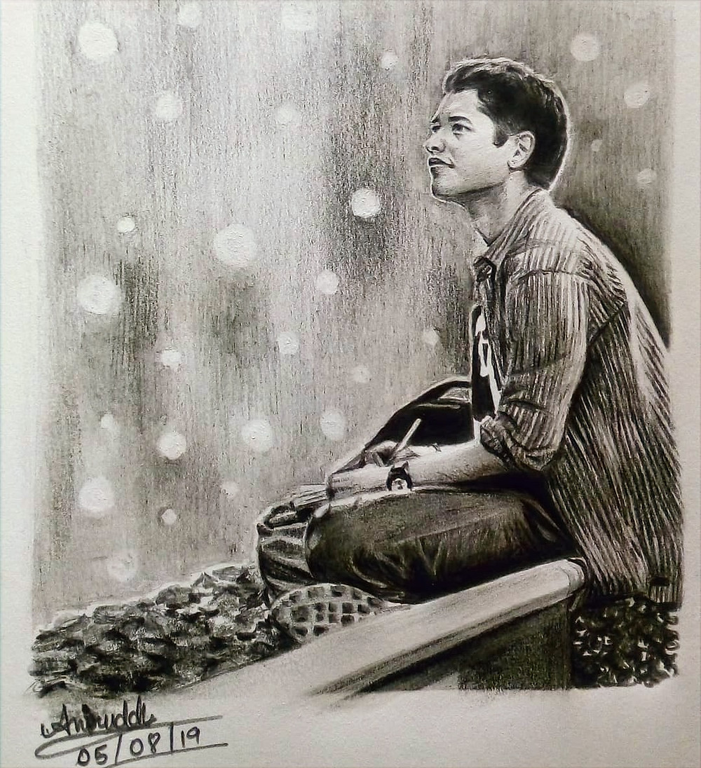 A Fan sketch of Rohan from Udaan by Aniruddh Chakravarti