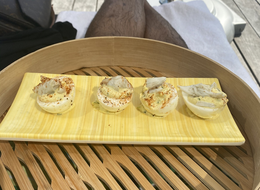 Crab Deviled Eggs  - Four Seasons Baltimore