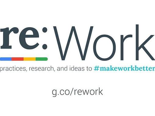 re:Work : Como o Google está mudando a relação de trabalho nas empresas