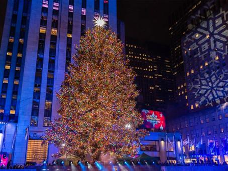 New York City: Rockefeller Center Christmas Tree 2020