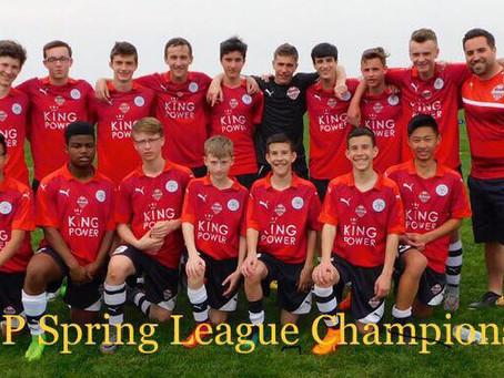 Congratulations U15 Boys Leicester!