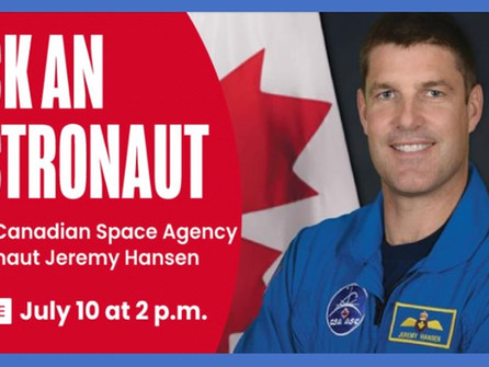 Meet a Canadian Space Agency Astronaut!