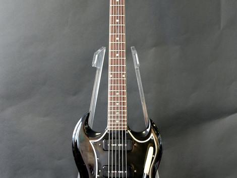 Vilken underbar 1967 Gibson SG Special i svart Refin. 34999:-