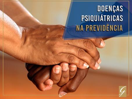 Doenças psiquiátricas na Previdência