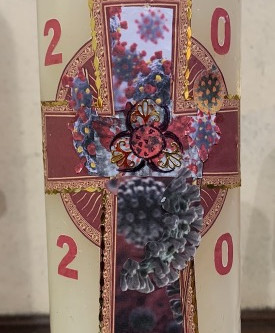 2020 Paschal Candle design