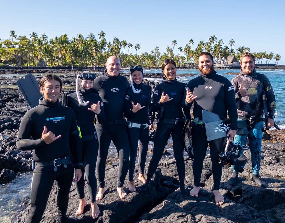 learn to Freedive Kona Freedivers 1