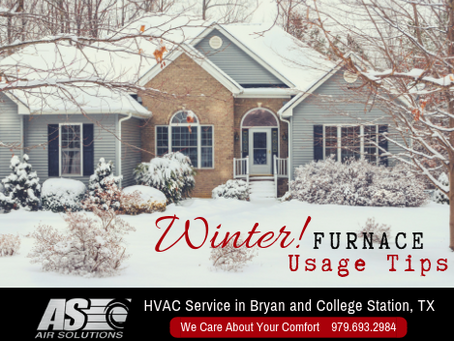 4 Furnace Usage Tips For Winter