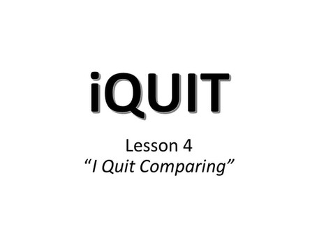 iQuit Lesson 4 Discussion Questions