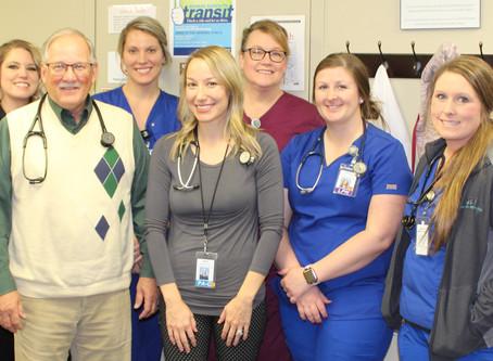 Memorial's Clinics Celebrate National Rural Health Day
