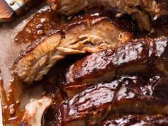 Sticky BBQ Back Ribs