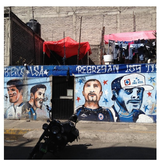 Mural del barrio Anel; SnJuan