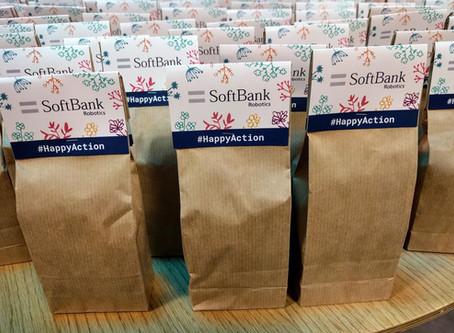 Un printemps gourmand chez SoftBank Robotics !