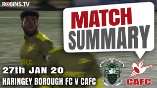 Match summary - Haringey Borough