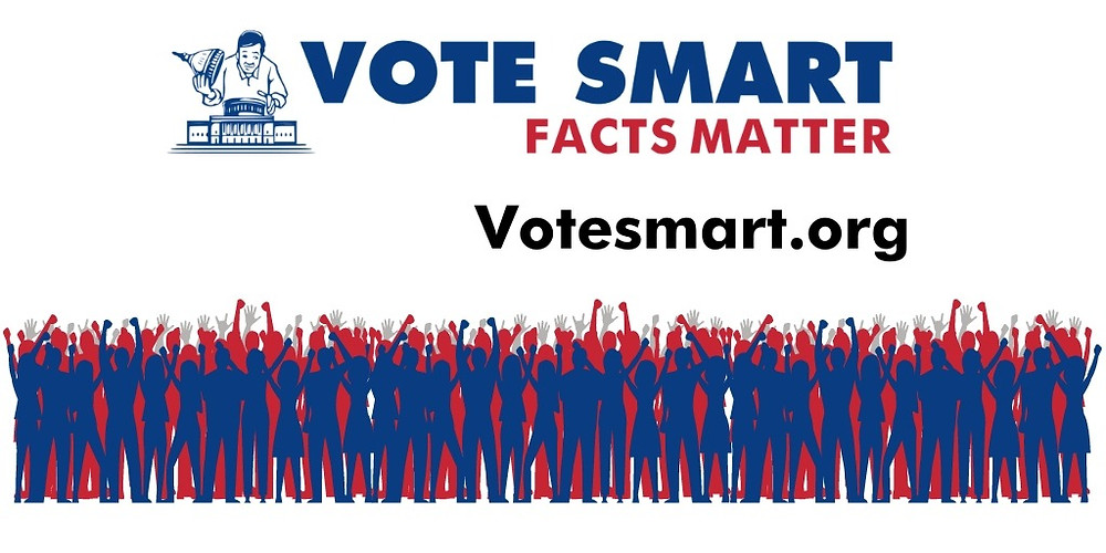 "Vote Smart logo and slogan, ""Facts Matter"""