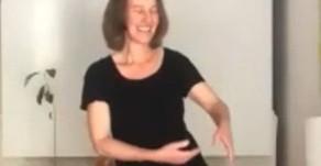 תנועות צ'י קונג לטיפול בגב התחתון ולהנעת האגן