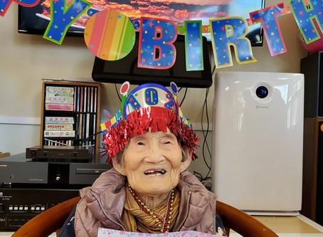 Celebrates 102th Birthday!!