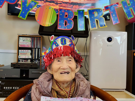Celebrates 102th Birthday!!
