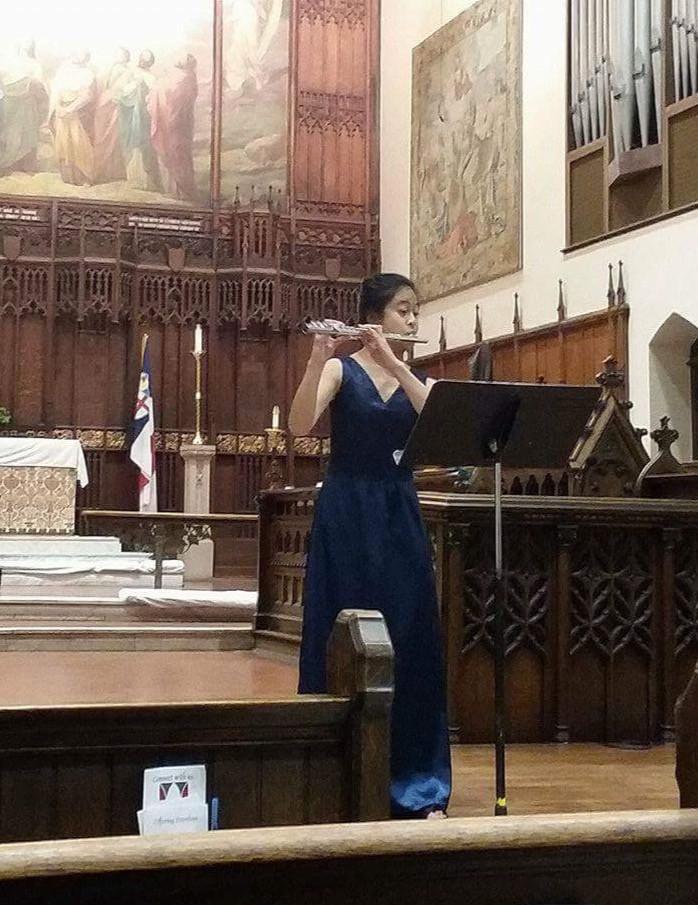 Theresa Abalos, flutist