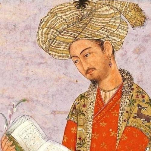 Idealized portrait of Babur, early 17th century