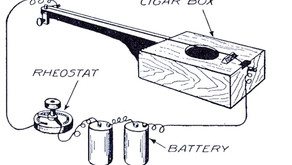 Dangerous Electric Cigar Box Guitar Plans from 1919