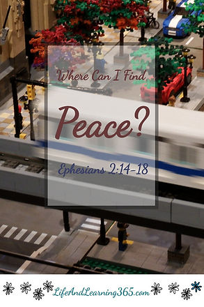 Where Can I Find Peace, Eph.2:14-18, Lif