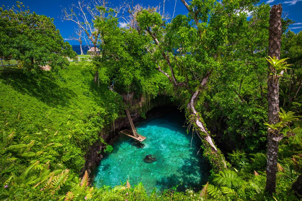 To Sua Ocean Trench Samoa Polynésie
