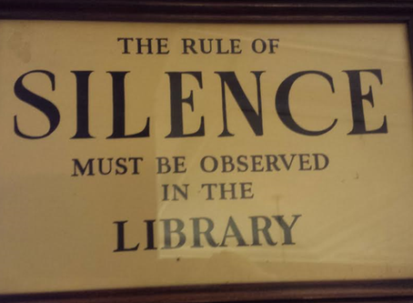 Things You Should Never Do In a Library