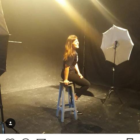 Backstage!!!