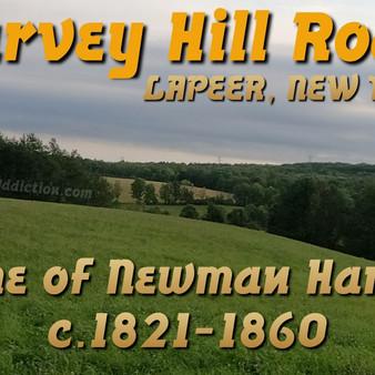 Harvey Hill Road in Lapeer, New York (video)