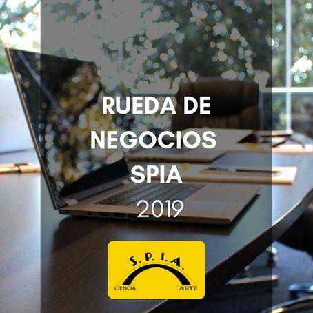 Rueda de Negocios SPIA 2019