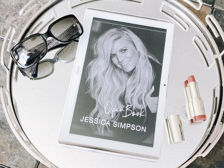A glimpse into Jessica Simpson's Open Book