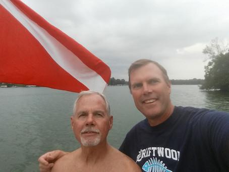 Nagawicka Lake Scuba Diving 8/15/18