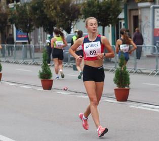В Івано-Франківську пройшов чемпіонат України зі спортивної ходьби на 50 та 20 кілометрів.
