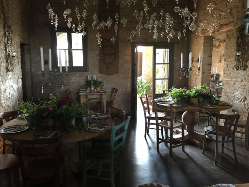 Rosa Rosae: from Watermill to Chic Restaurant
