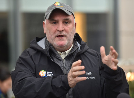 José Andrés hopes to feed the hungry