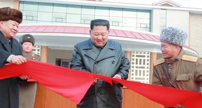 A República  Popular Democrática da Coreia inaugura balneário com fontes termais
