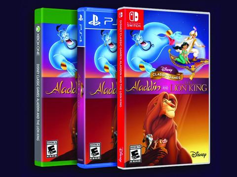 Disney plant Aladdin & The Lion King Remaster Collection