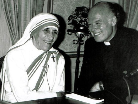 From the Archives: Fr. Gene and Mother Teresa