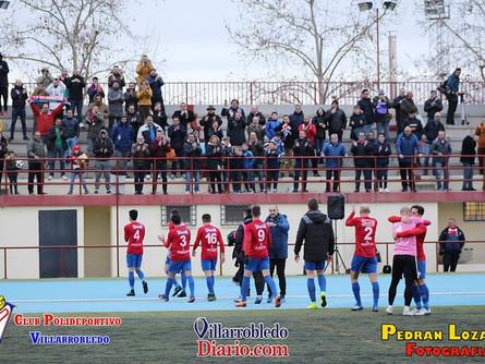 El CP Villarrobledo consigue un importante triunfo en Tomelloso apoyado por su afición