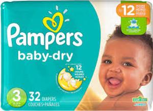 suosikki-vaippani Pampers baby-dry