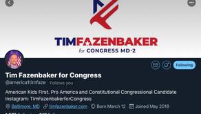 Maryland CD-2 please support Tim Fazenbaker as he runs for Congress in 2020! #HadEnough? #Fazenbaker