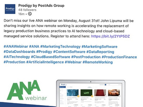 Prodigy@ANA Webinar: Cloud-based platform with AI for production data collection