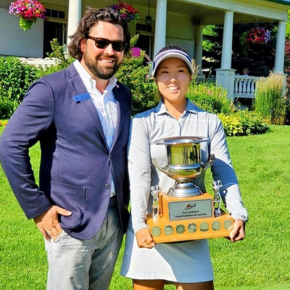PGA of Canada, Women's Champion, Rebecca Lee-Bentham, Golf, LPGA,