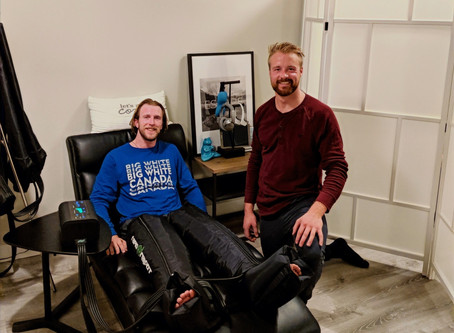 Active Recovery with Compression Massage - By Kris Mahler