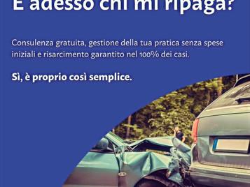 LE REGIONI D'ITALIA CON PIÙ TAMPONAMENTI