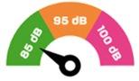 législation bruit belgique 85 decibels